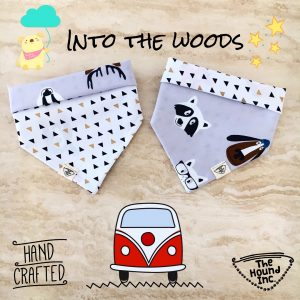 into the woods dog bandana