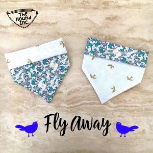 fly away dog bandana