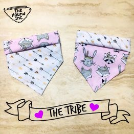 the tribe dog bandana