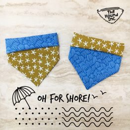 oh for shore dog bandana